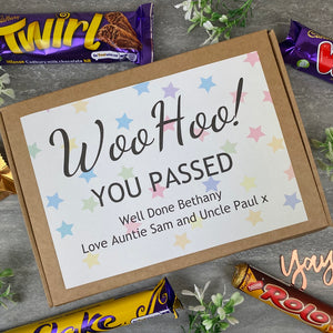 Woo Hoo! You Passed - Personalised Chocolate Box-The Persnickety Co