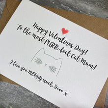 Load image into Gallery viewer, Happy Valentine's Day To The Most PURR-fect Cat Mum/Cat Dad Card-8-The Persnickety Co