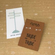 Load image into Gallery viewer, Bride Tribe Arrow Earrings-3-The Persnickety Co
