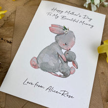 Load image into Gallery viewer, Happy Mother's Day To My Beautiful Mummy - Personalised Card-4-The Persnickety Co