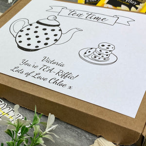 You're TEA-Riffic Personalised Tea and Biscuit Box-10-The Persnickety Co
