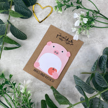 Load image into Gallery viewer, Cute Pig Sticky Note