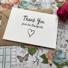Load image into Gallery viewer, Thank You Wedding Card-4-The Persnickety Co