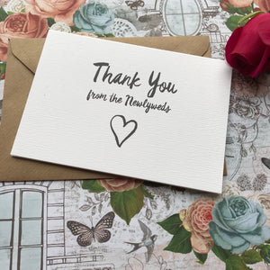 Thank You Wedding Card-4-The Persnickety Co