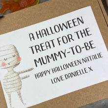 Load image into Gallery viewer, Mummy To Be Personalised Halloween Sweet Box-3-The Persnickety Co