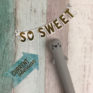 Cute Otter Gel Pen-8-The Persnickety Co