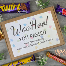 Load image into Gallery viewer, Woo Hoo! You Passed - Personalised Chocolate Box-5-The Persnickety Co