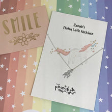 Load image into Gallery viewer, Personalised Unicorn Necklace-3-The Persnickety Co
