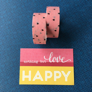 Little Triangles Washi Tape-The Persnickety Co