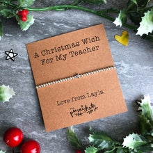 Load image into Gallery viewer, A Christmas Wish For My Teacher-10-The Persnickety Co