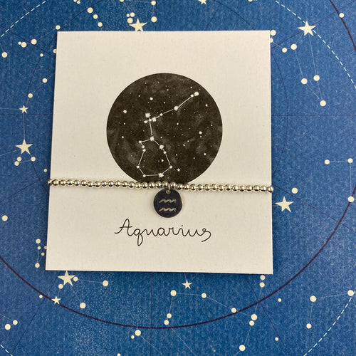 Zodiac Bracelet - Aquarius-The Persnickety Co