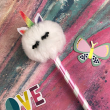 Load image into Gallery viewer, Fluffy Unicorn Pencil-7-The Persnickety Co