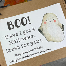 Load image into Gallery viewer, BOO! Personalised Halloween Sweet Box-6-The Persnickety Co