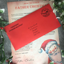 Load image into Gallery viewer, Letter From Father Christmas-10-The Persnickety Co