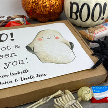 Load image into Gallery viewer, BOO! Personalised Halloween Kinder Bueno Box-7-The Persnickety Co