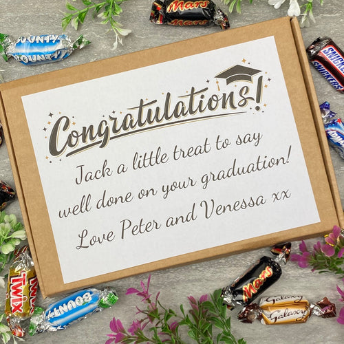 Congratulations On Your Graduation Chocolate Celebrations Box-The Persnickety Co