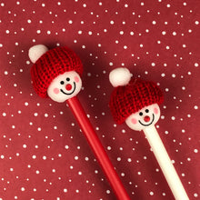 Load image into Gallery viewer, Cute Snowman Pens-6-The Persnickety Co