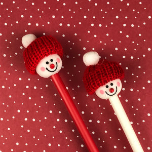 Cute Snowman Pens-6-The Persnickety Co