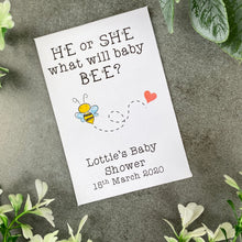 Load image into Gallery viewer, He Or She What Will Baby Bee?-10-The Persnickety Co
