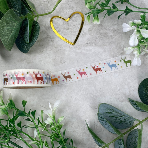 Reindeer Washi Tape-The Persnickety Co