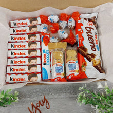 Load image into Gallery viewer, Personalised Colouring In Kinder Treat Box