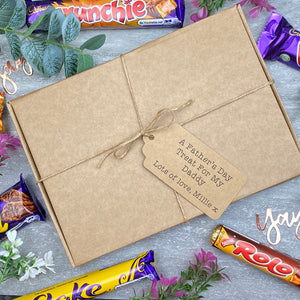A Father's Day Treat - Personalised Chocolate Gift Box-4-The Persnickety Co