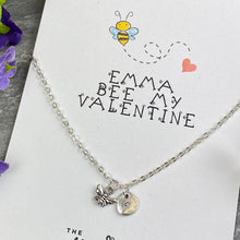 Load image into Gallery viewer, Bee My Valentine Necklace-5-The Persnickety Co