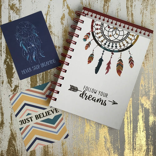Dream Catcher Notebook-The Persnickety Co