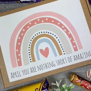 You Are Nothing Short Of Amazing Personalised Chocolate Box-4-The Persnickety Co