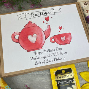 Mothers Day Quali-TEA Tea and Biscuit Box