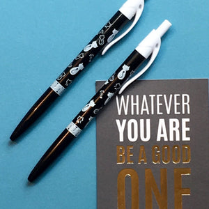 Cat Ballpoint Pen - Black & White-3-The Persnickety Co