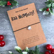 Load image into Gallery viewer, Baa Humbug Wish Bracelet-8-The Persnickety Co