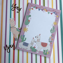 Load image into Gallery viewer, Llama A5 Notepad-5-The Persnickety Co