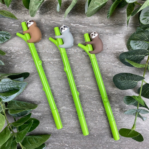 Sloth Gel Pen-The Persnickety Co