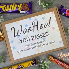 Load image into Gallery viewer, Woo Hoo! You Passed - Personalised Chocolate Box-6-The Persnickety Co