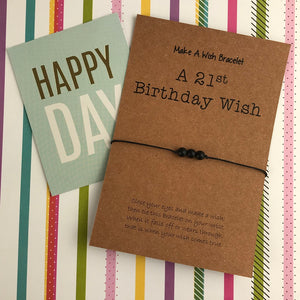 A 21st Birthday Wish - Onyx-2-The Persnickety Co