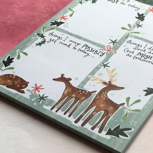 Winter Wonderland A5 Notepad-2-The Persnickety Co