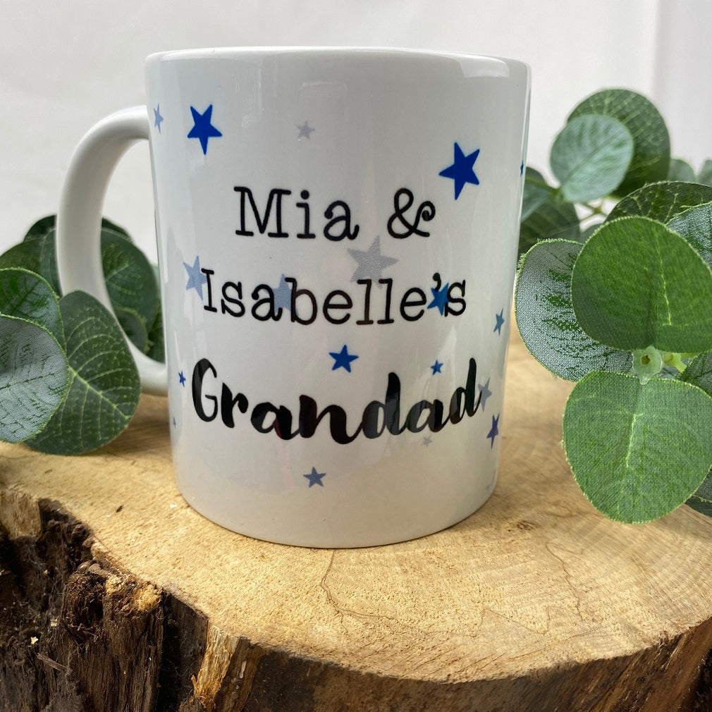 Personalised Grandad Mug-The Persnickety Co