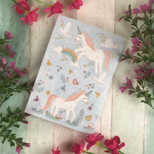Load image into Gallery viewer, A6 Unicorn Notebook-8-The Persnickety Co