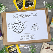 Load image into Gallery viewer, You're TEA-Riffic Personalised Tea and Biscuit Box-7-The Persnickety Co