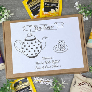 You're TEA-Riffic Personalised Tea and Biscuit Box-7-The Persnickety Co