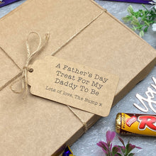 Load image into Gallery viewer, Daddy To Be Father's Day - Personalised Chocolate Gift Box-6-The Persnickety Co