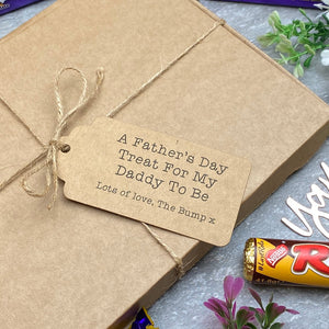 Daddy To Be Father's Day - Personalised Chocolate Gift Box-6-The Persnickety Co