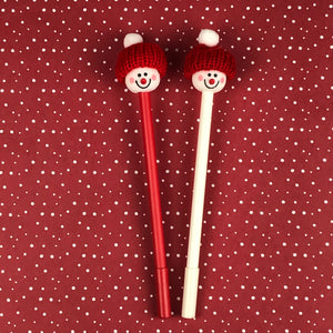 Cute Snowman Pens-2-The Persnickety Co