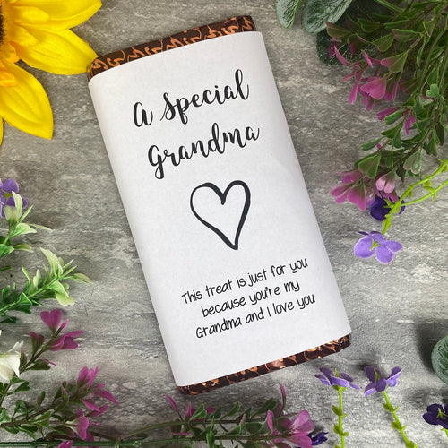 A Special Grandma Chocolate Bar-The Persnickety Co
