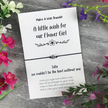 Load image into Gallery viewer, A Little Wish For Our Flower Girl-The Persnickety Co