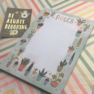 Cactus A5 Notepad-2-The Persnickety Co