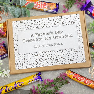 Grandad Fathers Day Treat - Personalised Chocolate Box-8-The Persnickety Co