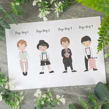 Load image into Gallery viewer, Thank You For Being Our Pageboy Card-2-The Persnickety Co