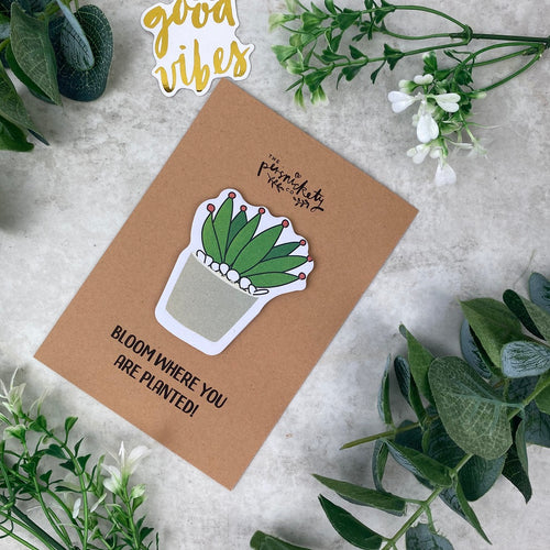 Cactus Sticky Notes-The Persnickety Co